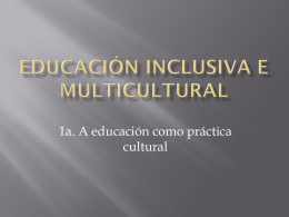 Educación Inclusiva e Multicultural