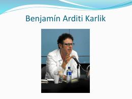Benjamín Arditi Karlik