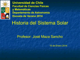 Historia del Sistema Solar (2014)
