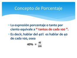 3.4 porcentajes