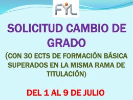 del 1 al 9 de julio - Facultad de Filosofía y Letras