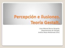 Percepción e ilusiones 2015 - Liceo Manuel Barros Borgoño