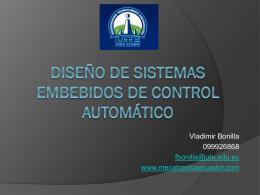 Diseño de Sistemas embebidos de Control Automático