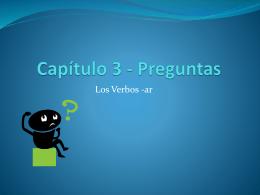 Capítulo 3 - Preguntas