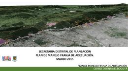 Presentación Taller Expertos - Secretaría Distrital de Planeación