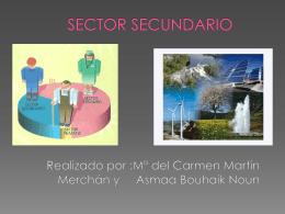 Sector secundario en Granada