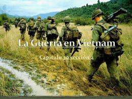 La Guerra en Vietnam