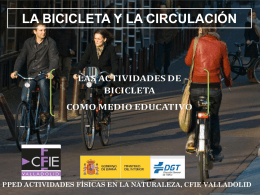 Circulación Bici - Recursos.educa.jcyl.es
