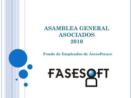 informe asamblea fasesoft 2011