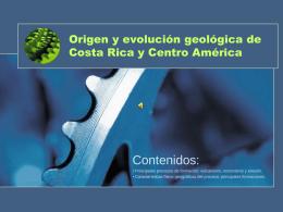 Origen y evolución geológica de la tierra