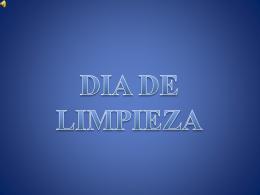 DIA DE LIMPIEZA