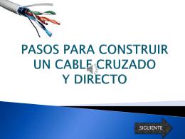 Pasos para Construir un Cable Cruzado