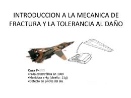 Introduccion a la mecánica de fractura y tolerancia al daño