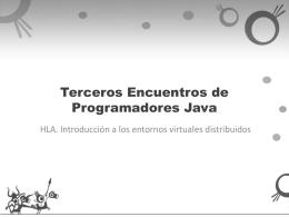 Transparencias - Quintos Encuentros de Programadores Java