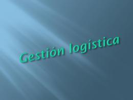 Gestión logística - Informatica PCPI