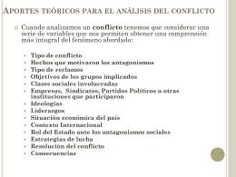 La protesta social en Argentina Contexto socio