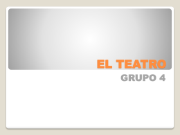 EL TEATRO - WordPress.com