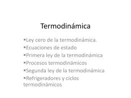 Termodinámica