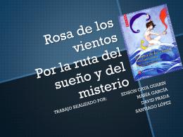 Rosa de los vientos - Lengua catellana y Literatura 2º ESO B