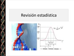2-Revisión estadística