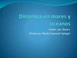 Dinámica en mares y océanos