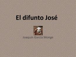 El difunto José