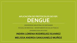 VIGILANCIA DENGUE - Universidad Industrial de Santander