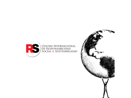 Centro Internacional de Responsabilidad Social y Sostenibilidad