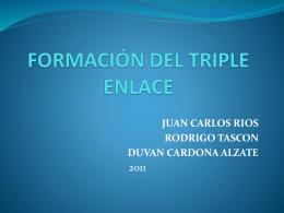 FORMACIÓN DEL TRIPLE ENLACE EXPO