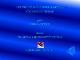 ESCALONA VARGAS GOTETI CECILIA