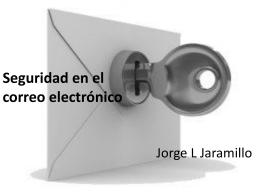 Seguridad en el correo electrónico
