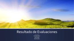 presentación evaluadores