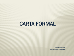 carta formal - espanoliblanglit