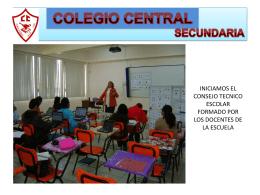 sec 30-10-4 - Colegio Central