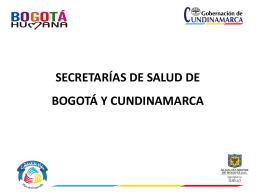 condiciones del sorteo - Gobernación de Cundinamarca