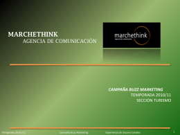 Campaña Buzz Marketing