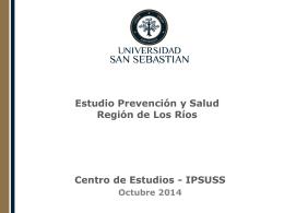 Encuesta IPSUSS: Prevención y Salud, Región de Los Ríos