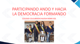 PARTICIPANDO ANDO Y HACI