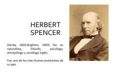 Presentación Spencer - Maestría en trabajo social