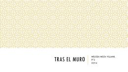 TRAS EL MURO - Tecno-tics