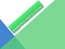 Barreras Psicológicas – 1TIC2