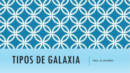TIPOS DE GALAXIA