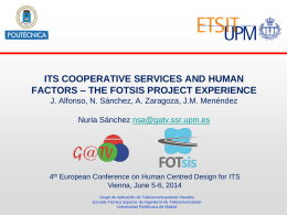 FOTsis - European conference on human centred design for