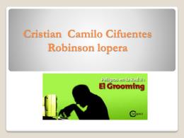 Cristian Camilo cifuentes v. Robinson lopera