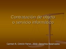 Contratos informáticos