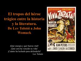 El tropos del héroe trágico entre la historia y la
