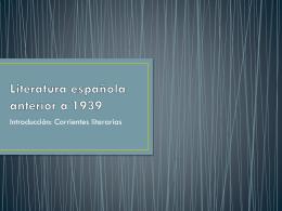 La poesía romántica española