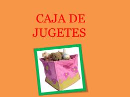 CAJA DE JUGETES