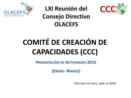 Plan Operativo Anual (POA) del Comité de Capacitación