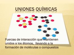 UNIONES QUÍMICAS